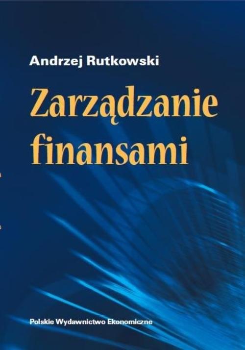 okładka Zarządzanie finansami, Książka   Rutkowski Andrzej