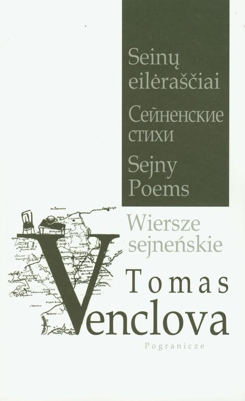 okładka Wiersze sejneńskie, Książka | Tomas Venclova