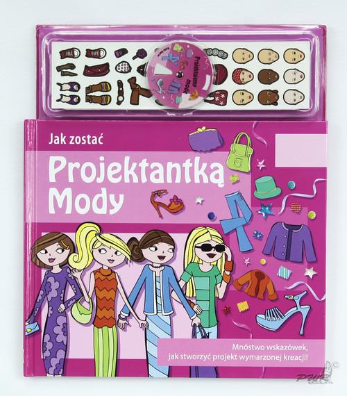 okładka Jak zostać projektantką mody, Książka  