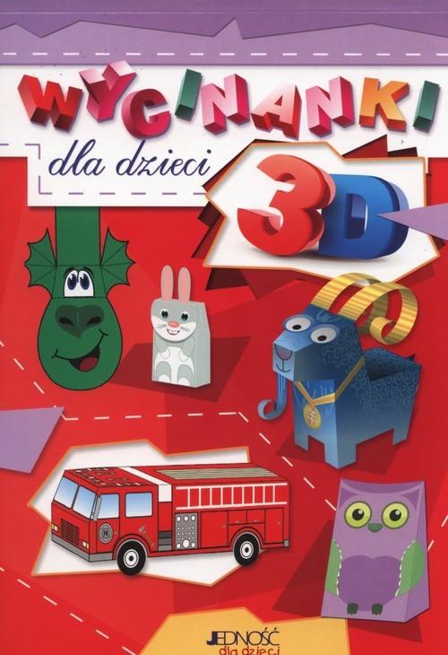 okładka Wycinanki 3D dla dzieci, Książka   Skwark Dorota