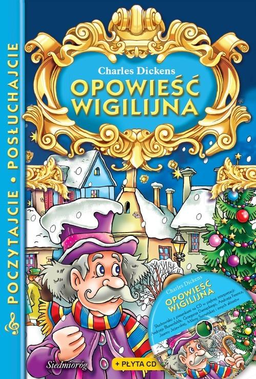 okładka Opowieść wigilijna z płytą CD Poczytajcie, posłuchajcieksiążka |  | Dickens Charles