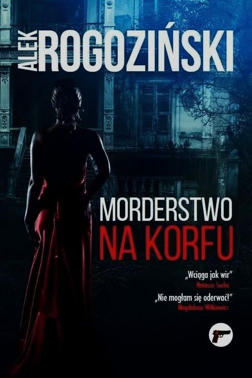okładka Morderstwo na Korfu, Książka | Rogoziński Alek