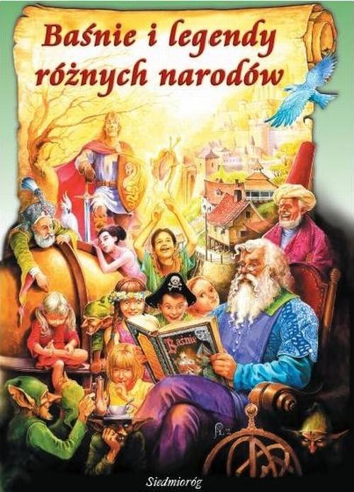okładka Baśnie i legendy różnych narodów, Książka  