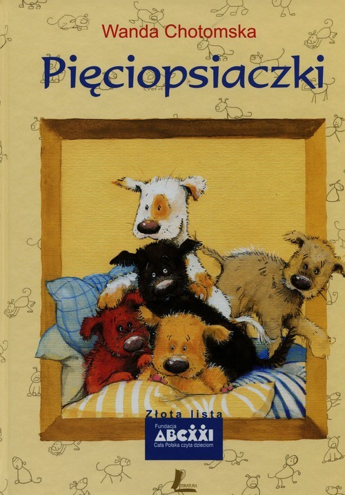 okładka Pięciopsiaczki, Książka   Chotomska Wanda