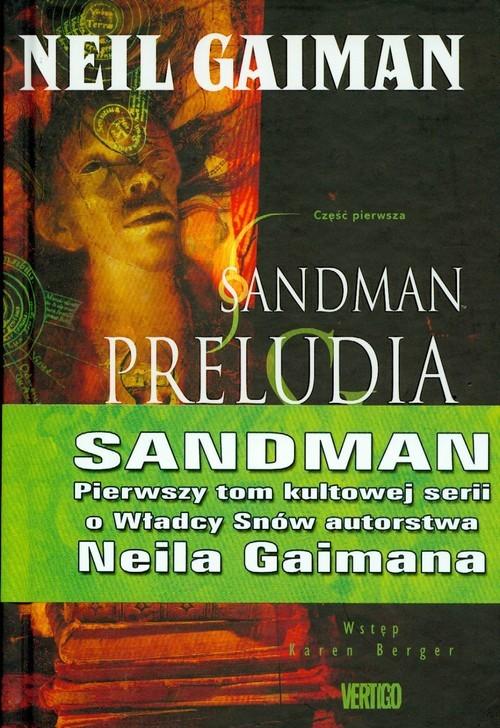 okładka Sandman Preludia i nokturny Tom 1, Książka | Gaiman Neil