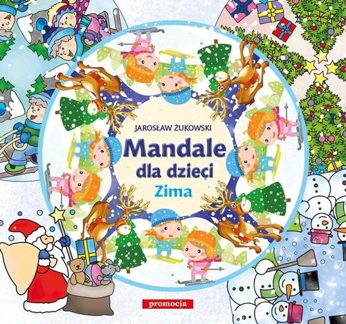 okładka Mandale dla dzieci Zima, Książka |