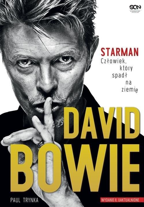 okładka David Bowie STARMAN Człowiek który spadł na ziemięksiążka |  | Trynka Paul