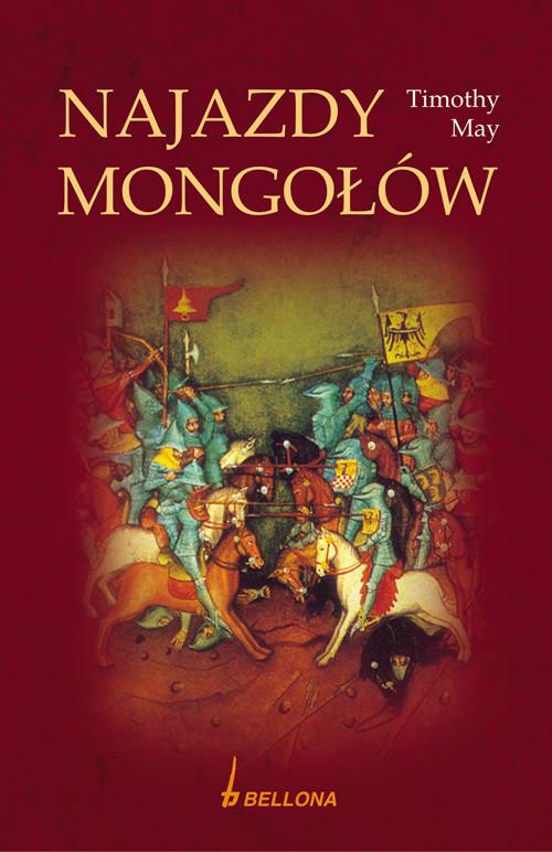 okładka Najazdy Mongołów, Książka | May Timothy