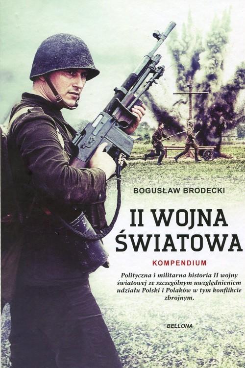 okładka II wojna światowa kompendium, Książka | Brodecki Bogusław