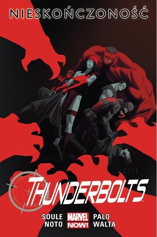 okładka Thunderbolts - Nieskończoność Tom 3książka |  | Soule Charles