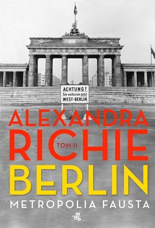 okładka Berlin. Metropolia Fausta Tom 2książka |  | Richie Alexandra