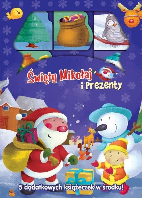 okładka Święty Mikołaj i prezenty, Książka |