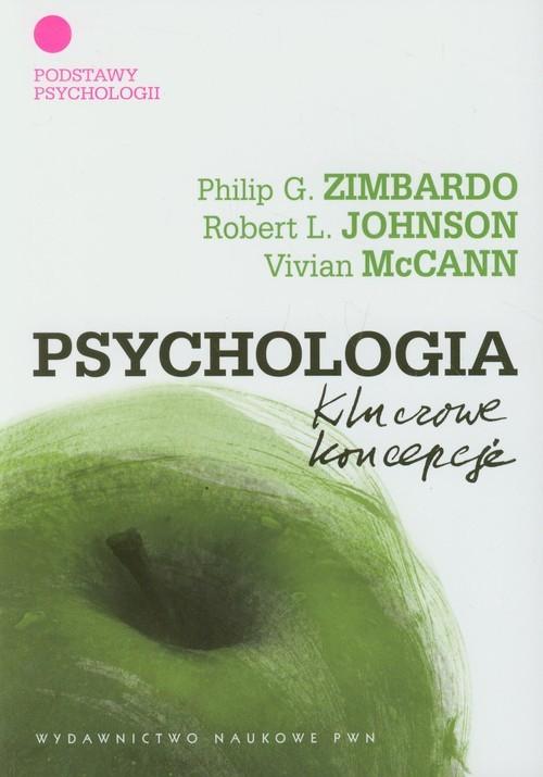 okładka Psychologia Kluczowe koncepcje Tom 1, Książka   Philip G. Zimbardo, Rob Johnson