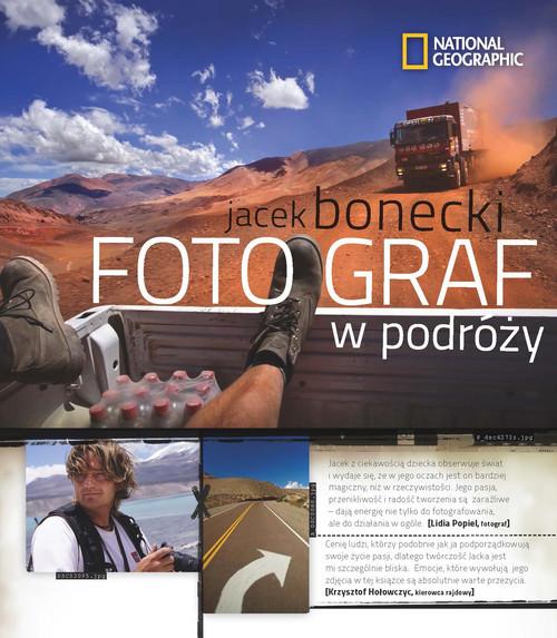 okładka Fotograf w podróży, Książka | Bonecki Jacek