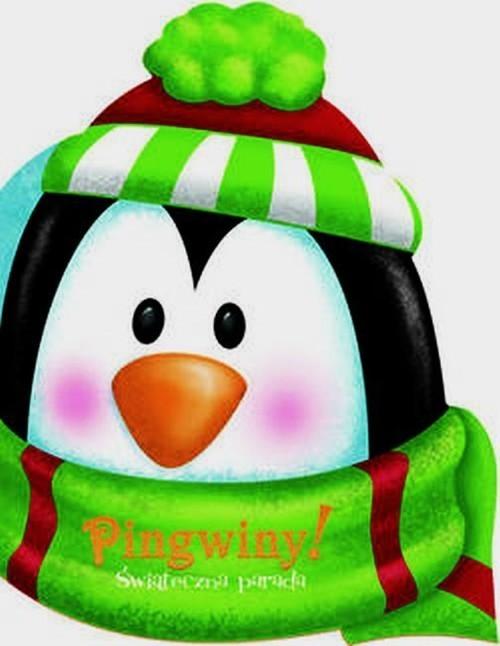 okładka Pingwiny Świąteczna parada, Książka | Praca Zbiorowa