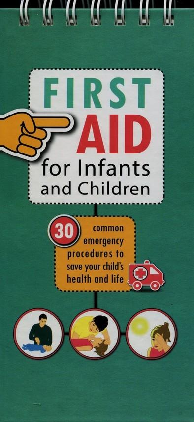 okładka Pierwsza pomoc dla dzieci i niemowląt wersja angielska, Książka | Laski Mikolaj