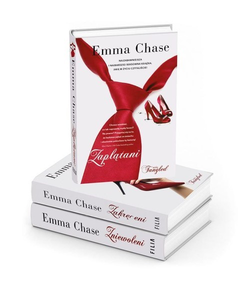 okładka Tangled Zaplątani / Zakręceni / Zniewoleni Pakiet, Książka | Chase Emma