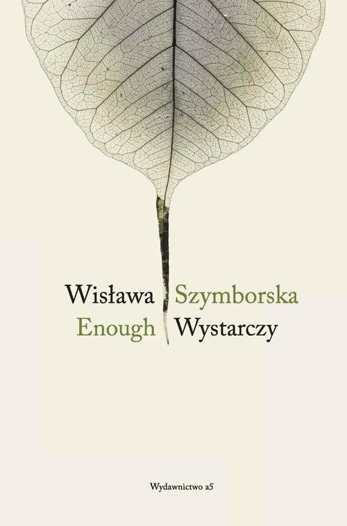 okładka Enough Wystarczy, Książka | Szymborska Wisława