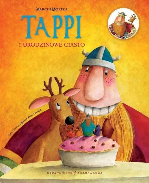 okładka Tappi i urodzinowe ciasto, Książka | Mortka Marcin