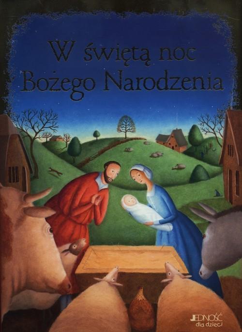 okładka W świętą noc Bożego Narodzenia, Książka |