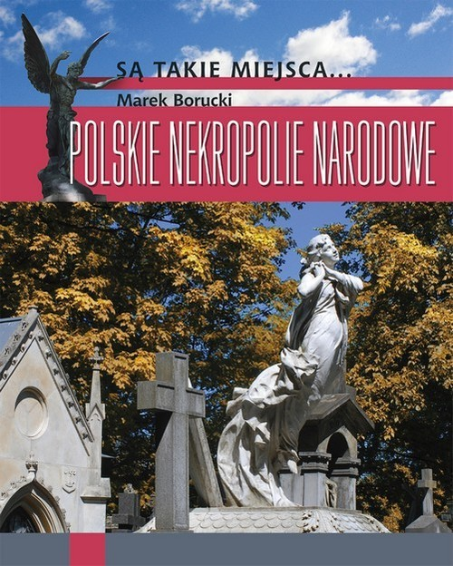 okładka Polskie nekropolie narodowe, Książka | Borucki Marek