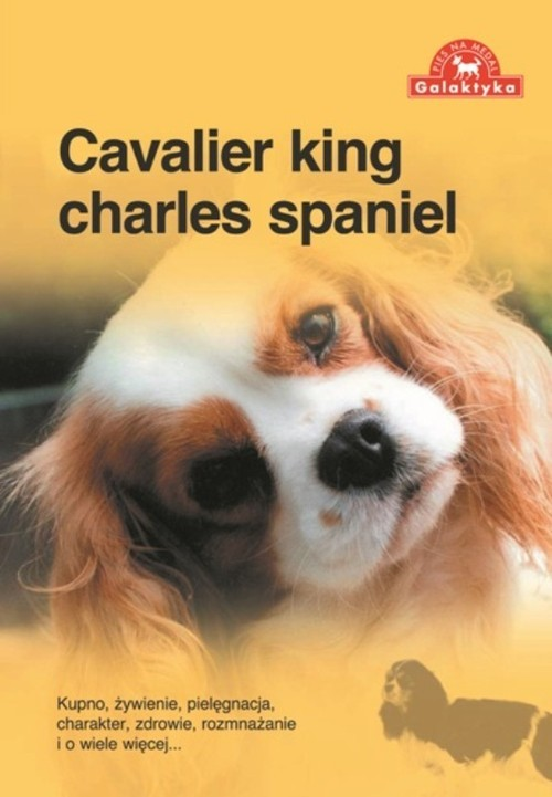 okładka Cavalier king charles spaniel, Książka  