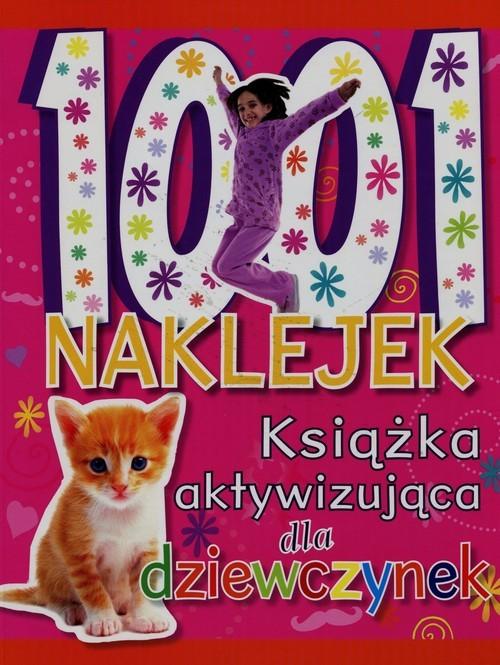 okładka 1001 naklejek Książka aktywizująca dla dziewczynekksiążka |  |