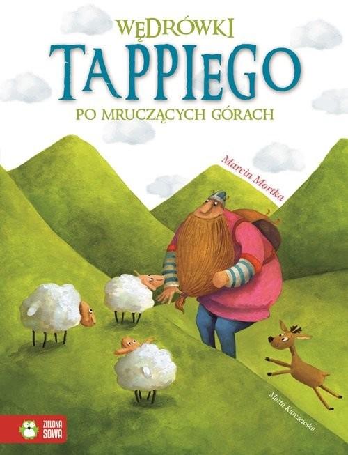 okładka Wędrówki Tappiego po Mruczących Górach, Książka | Marcin Mortka