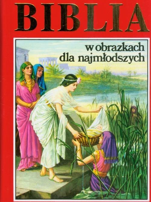 okładka Biblia w obrazkach dla najmłodszych, Książka |