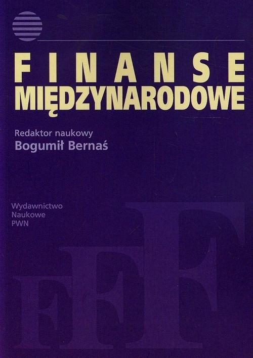 okładka Finanse międzynarodowe, Książka |