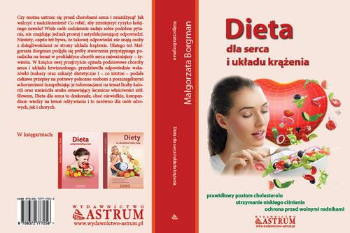 okładka Dieta dla serca i układu krążenia, Książka | Borgman Małgorzata