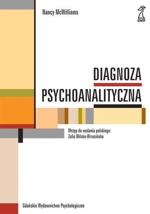 okładka Diagnoza psychoanalityczna, Książka   McWilliams Nancy