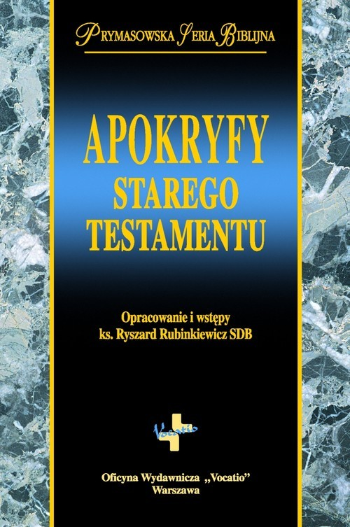 okładka Apokryfy Starego Testamentuksiążka |  | Rubinkiewicz Ryszard