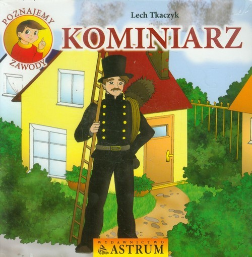 okładka Kominiarz z płytą CD, Książka | Tkaczyk Lech