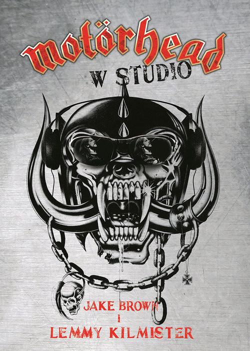 okładka Motorhead w studio, Książka | Jake Brown, Lemmy Kilmister
