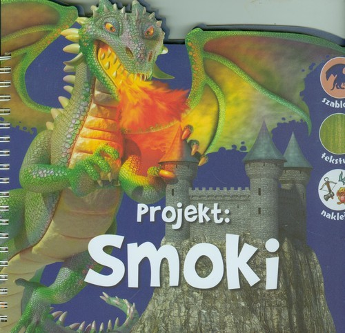 okładka Projekt Smoki, Książka |