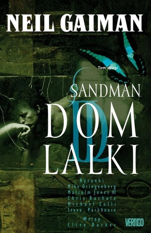 okładka Sandman Tom 2 Dom lalkiksiążka      Gaiman Neil