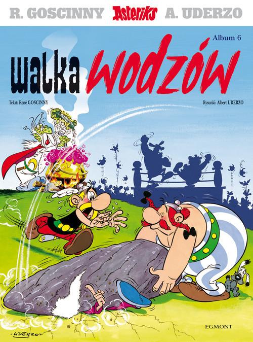 okładka Asteriks Tom 6 Walka wodzówksiążka      Goscinny Rene