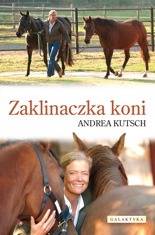 okładka Zaklinaczka koni, Książka   Kutsch Andrea