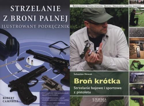 okładka Broń krótka / Strzelanie z broni palnej Pakiet, Książka |