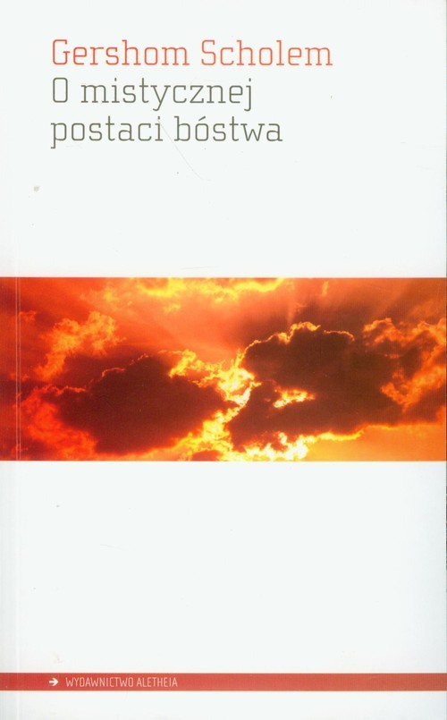 okładka O mistycznej postaci bóstwa, Książka | Scholem Gershom