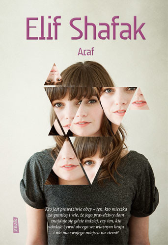 okładka ARAF, Książka | Shafak Elif
