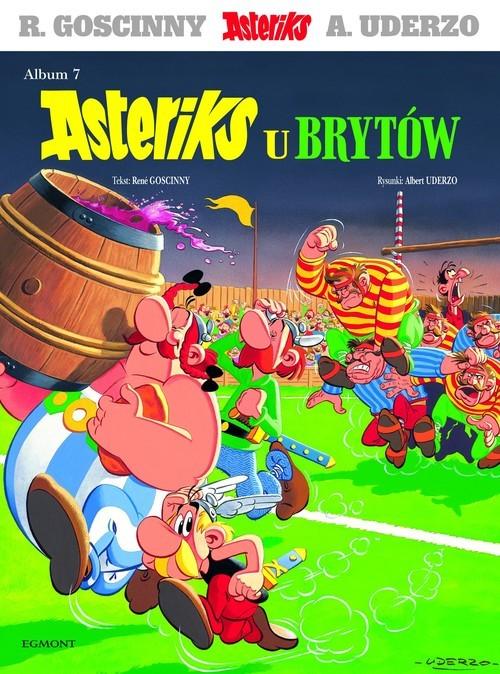 okładka Asteriks u Brytów, Książka | René Goscinny