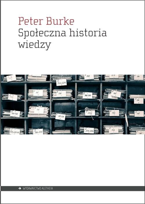okładka Społeczna historia wiedzy, Książka | Burke Peter