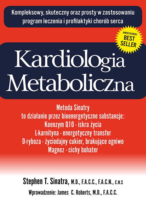 okładka Kardiologia metaboliczna, Książka | Stephen T. Sinatra