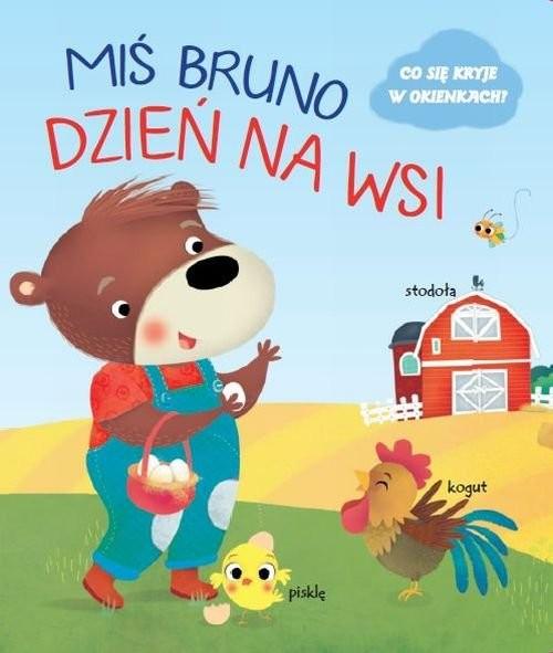 okładka Miś Bruno Dzień na wsi, Książka |