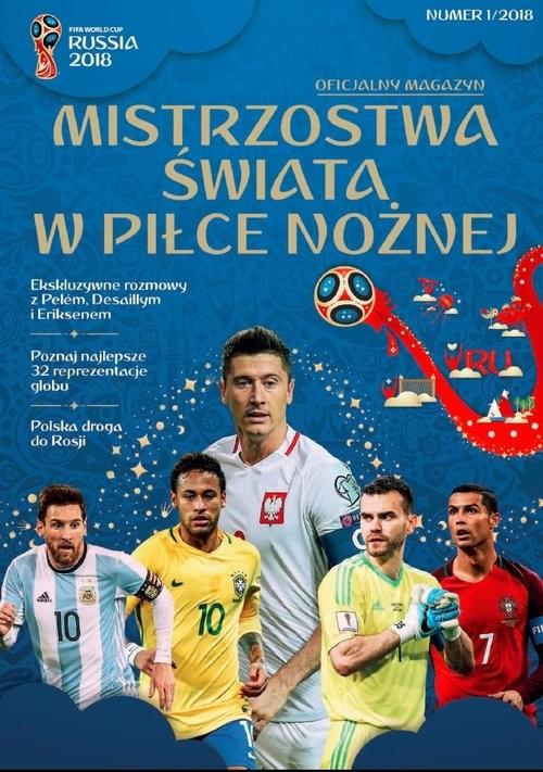 okładka FIFA -Mistrzostwa Świata w Piłce Nożnej Oficjalny Magazyn, Książka |