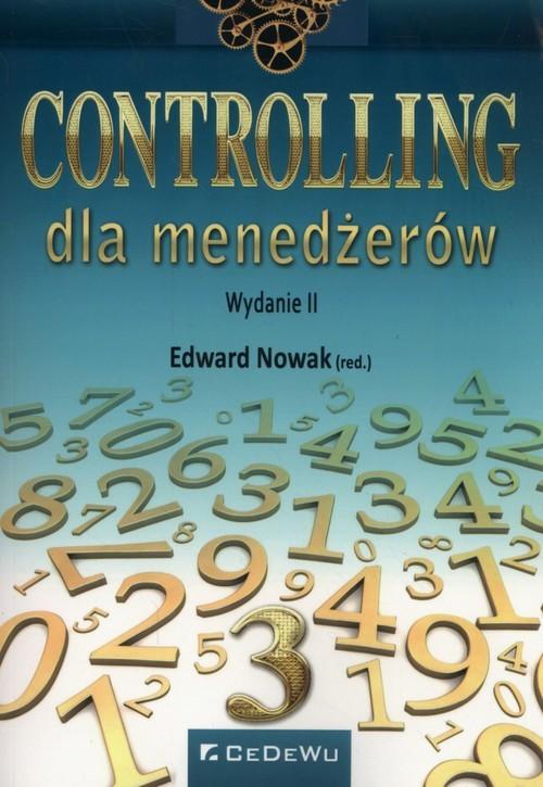 okładka Controling dla menadżerów, Książka |
