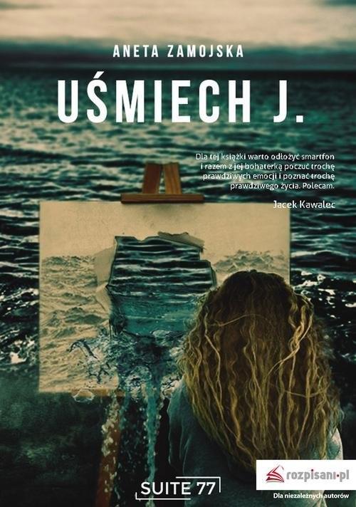 okładka Uśmiech J., Książka | Zamojska Aneta