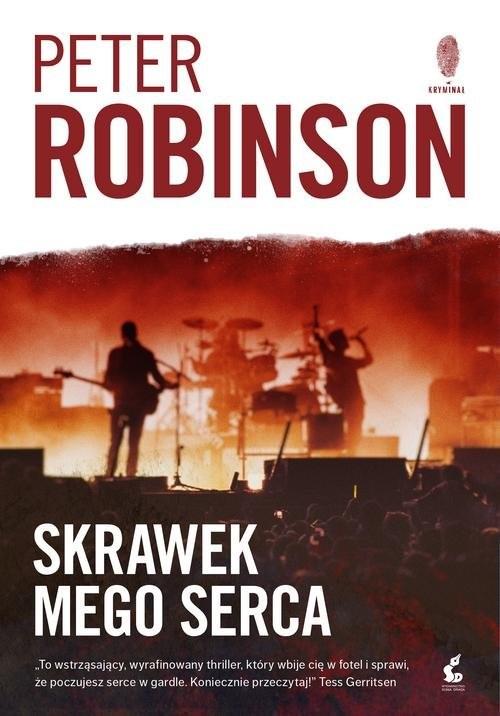 okładka Skrawek mego serca, Książka | Robinson Peter
